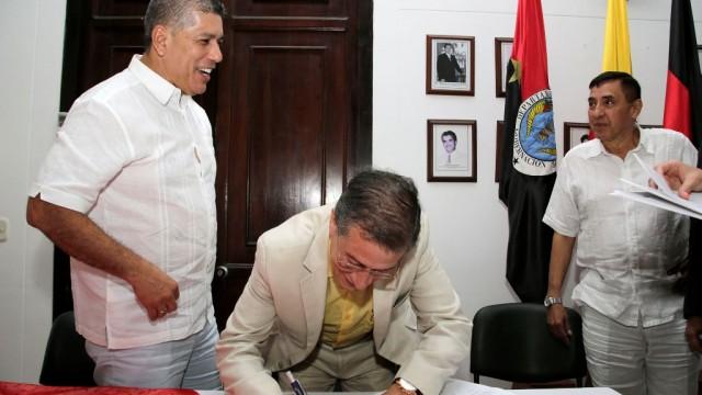 Posesión de Jesús Lindarte como  Magistrado de la Sala Civil Flia del Tribunal Superior de Cúcuta (5)