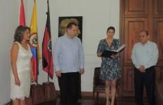 Posesión rectora (e) Sandra Ortega Sierra de la UFPS (1)