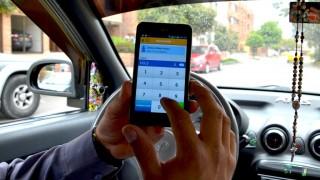 Foto Easy Taxi uso app corporativo taxista Arch Part