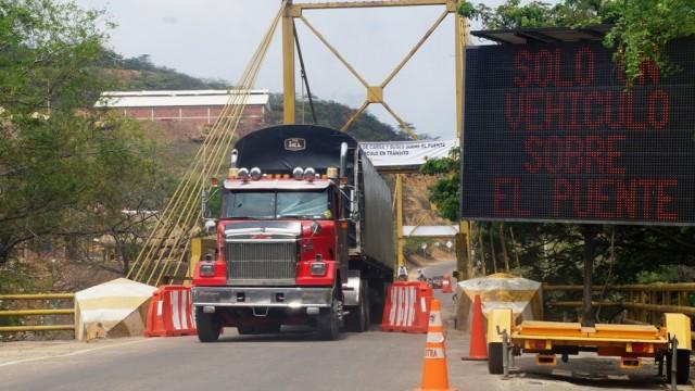 Puente Mariano Ospina Pérez Vía Cúcuta-El Zulia