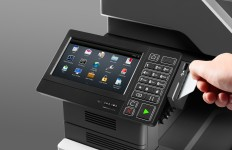 CX820 Contact Card Reader with Hand
