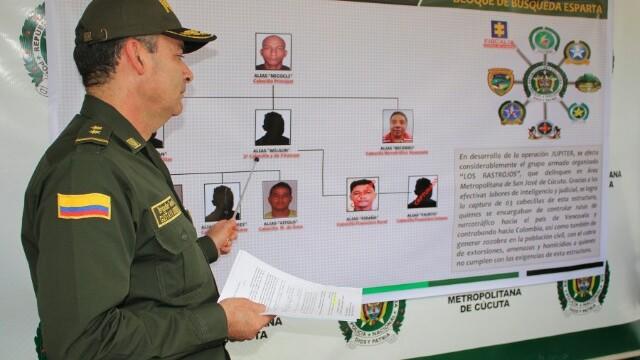 En la operación 'Júpiter' cayeron 'Iván', 'Piraña' y 'Fausto' presuntos cabecillas de 'Los Rastrojos' en la frontera