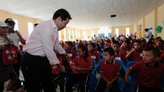 Entrega de kits escolares en Villa Caro por parte de la Gestora Social y el Gobernador de Norte de Santander (3)