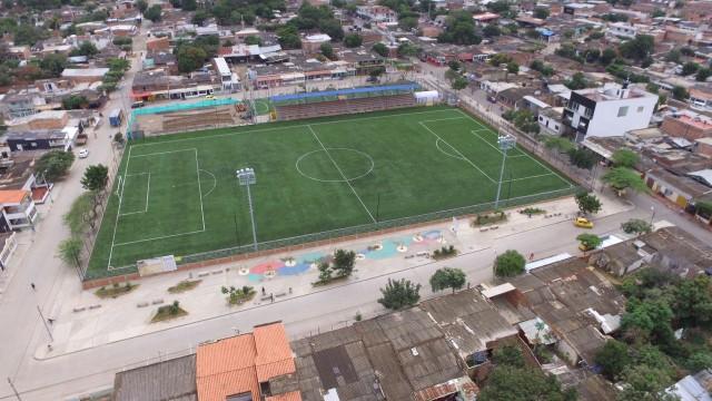 Estadio Sintético de Fútbol - Chapinero (1)