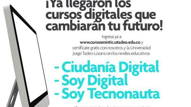 CURSOS DIGITALES GRATUITOS