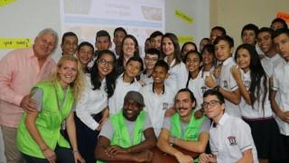 POSITIVA VISITA DE LA MINISTRA DE EDUCACIÓN A CÚCUTA MÁS NIÑOS A LAS AULAS