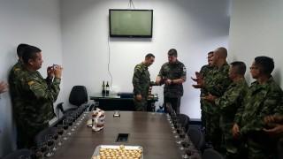 Ejército Nacional reconoce labor de agregados militares de Brasil en Desminado Humanitario