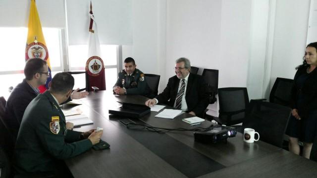 Visita embajador Croacia CENAM