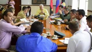 CONSEJO DE SEGURIDAD REFORZARÁ PRESENCIA INSTITUCIONAL EN EL SECTOR RURAL