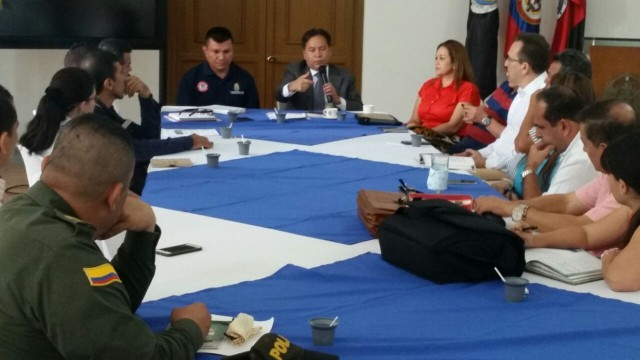 Encuentro gubernamental analiza situación en Guamalito, tras ataque a oleoducto por parte del Eln (2)