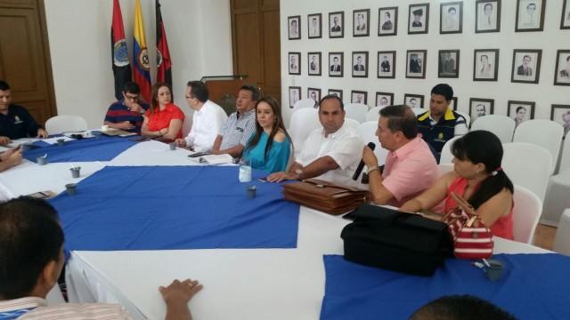 Encuentro gubernamental analiza situación en Guamalito, tras ataque a oleoducto por parte del Eln (4)