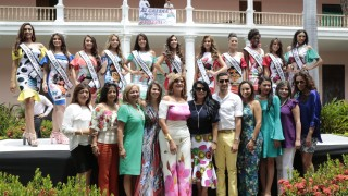 Entrega de bandas a las candidata señorita Norte (29)