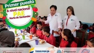 Gobernador de Norte de Santander y directora del PAE