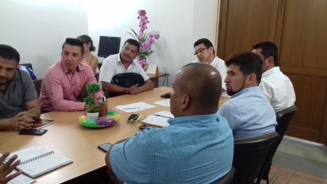 Secretario de Vivienda y Medio Ambiente, Melik Sarkis - Encuentro con Alcaldes para convocartorias de vivienda (1)