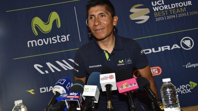 Nairo Quintana pre Tour