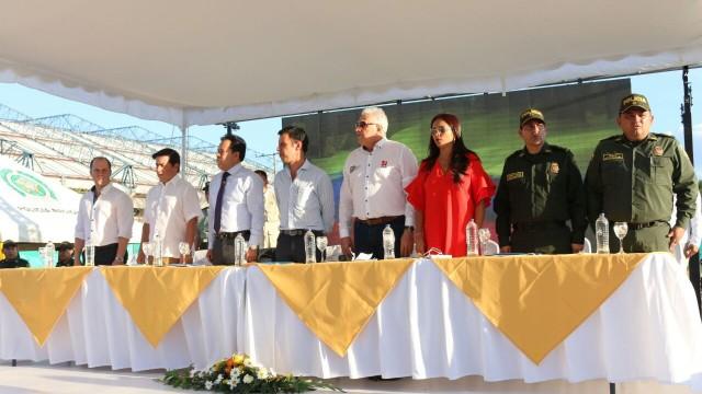ALCALDÍA DE CÚCUTA Y MININTERIOR INSTALAN PRIMERA PIEDRA DE ESTACIÓN DE POLICÍA