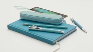 Ballpoint pen Guilloche Turquoise