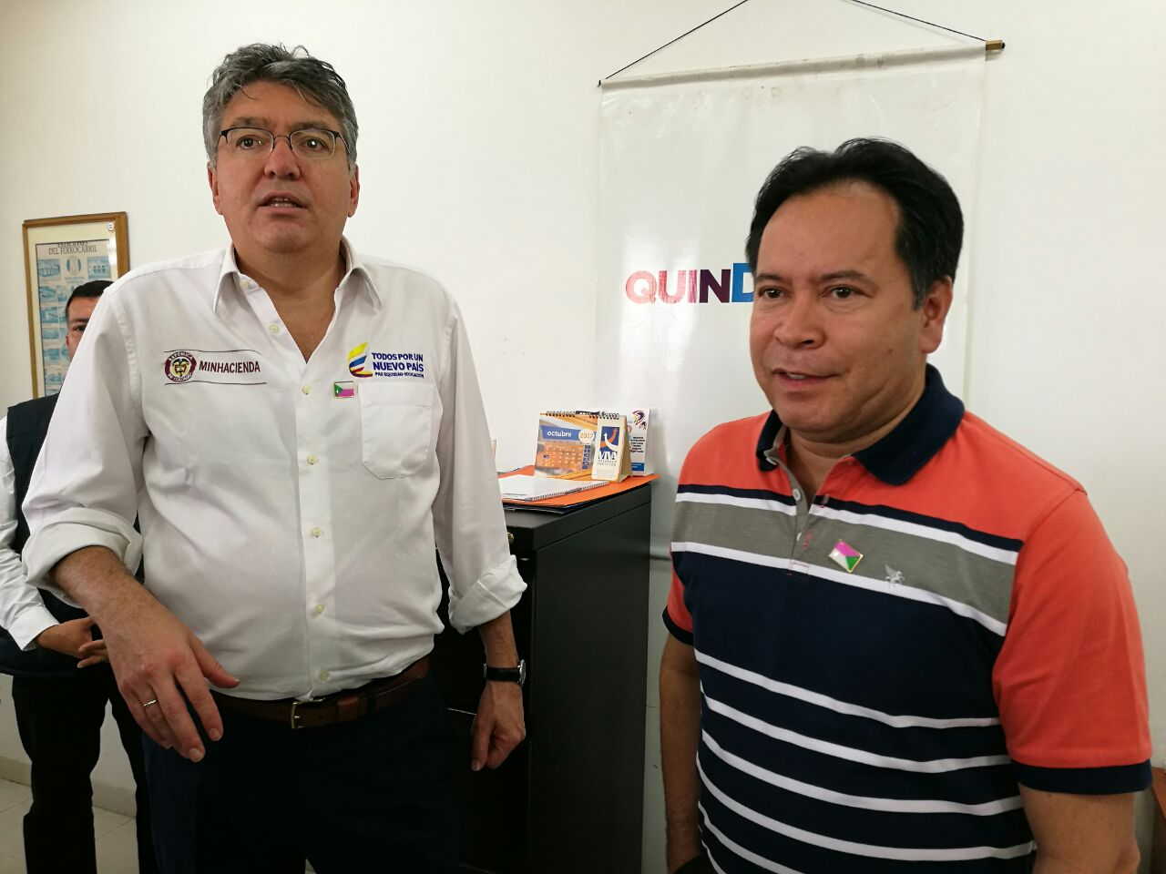Gobernador de Norte de Santander, William Villamizar Laguado - Encuentro con Ministro de Hacienda (7)