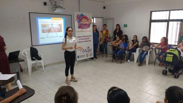 Secretaría de la Mujer - Semana de Prevención de Embarazo adolescente (2)