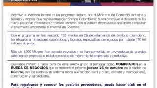 ALCALDÍA DE CÚCUTA APOYA JORNADA DE PREPARACIÓN Y TALLER DE CIERRE DE BRECHAS PARA LA RUEDA DE NEGOCIOS