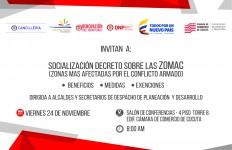 Cancillería socializará Decreto ZOMAC en Cúcuta