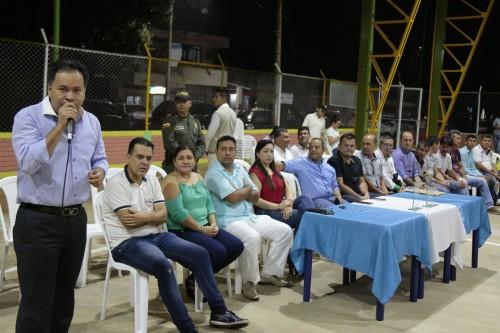 Entrega remodelación de la cancha Manuel Barco Mora en el barrio Patio Centro de Los Patios (10)
