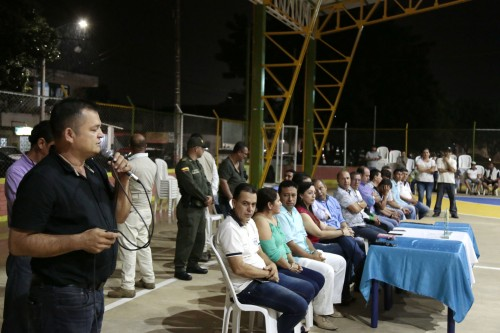 Entrega remodelación de la cancha Manuel Barco Mora en el barrio Patio Centro de Los Patios (5)