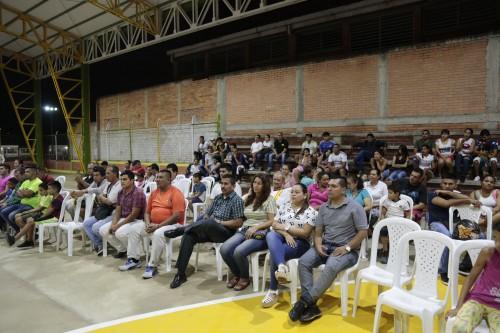 Entrega remodelación de la cancha Manuel Barco Mora en el barrio Patio Centro de Los Patios (9)