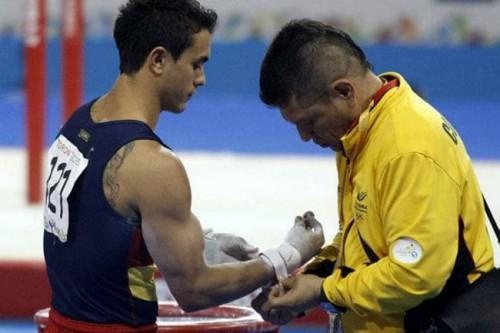 Jossimar en Juegos Bolivarianos