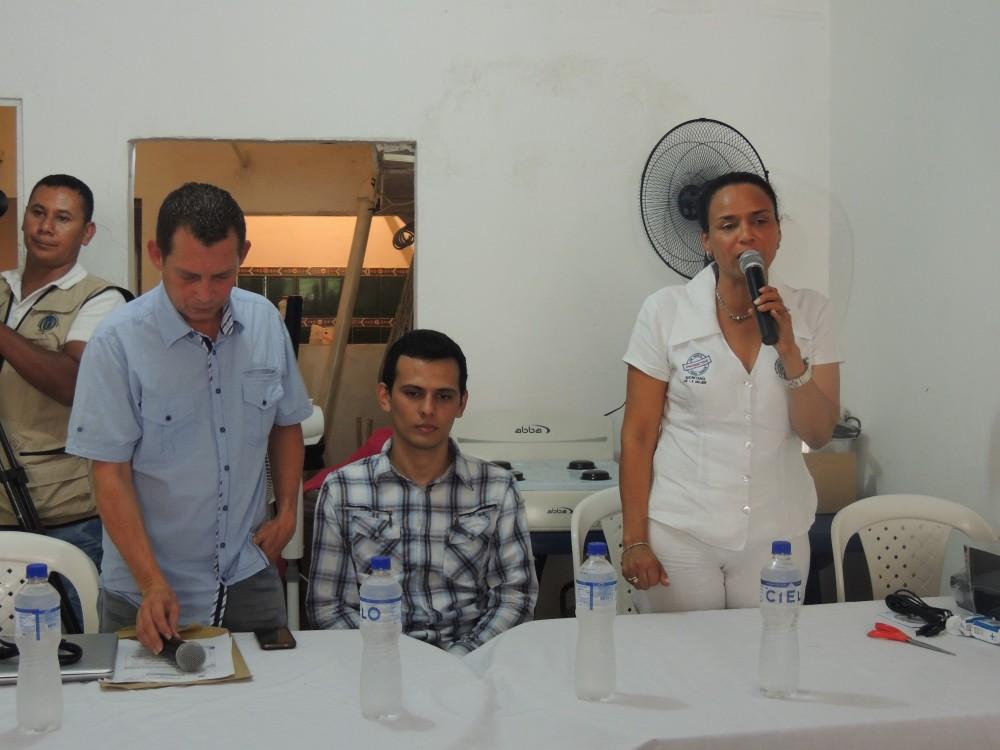 SECRETARIA DE LA MUJER, MARIA EUGENIA RIASCOS - INAUGURACIÓN DE LA CASA DE LA MUJER EN PUERTO SANTANDER (1)