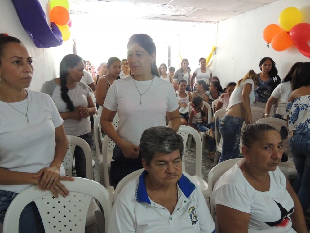 SECRETARIA DE LA MUJER, MARIA EUGENIA RIASCOS - INAUGURACIÓN DE LA CASA DE LA MUJER EN PUERTO SANTANDER (2)