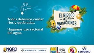 ALCALDÍA DE CÚCUTA SE UNE A LA CAMPAÑA NACIONAL EL RIESGO NO SE VA DE VACACIONES