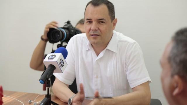 Edgar Andrés Pallares Díaz, Secretario de Gobiero (Anunció recompensa) (1)