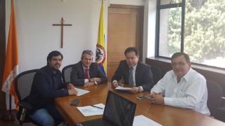 El Gobernador de Norte de Santander firma un acta de acuerdo para garantizar compromiso en la construcción del Anillo Vial para la Paz