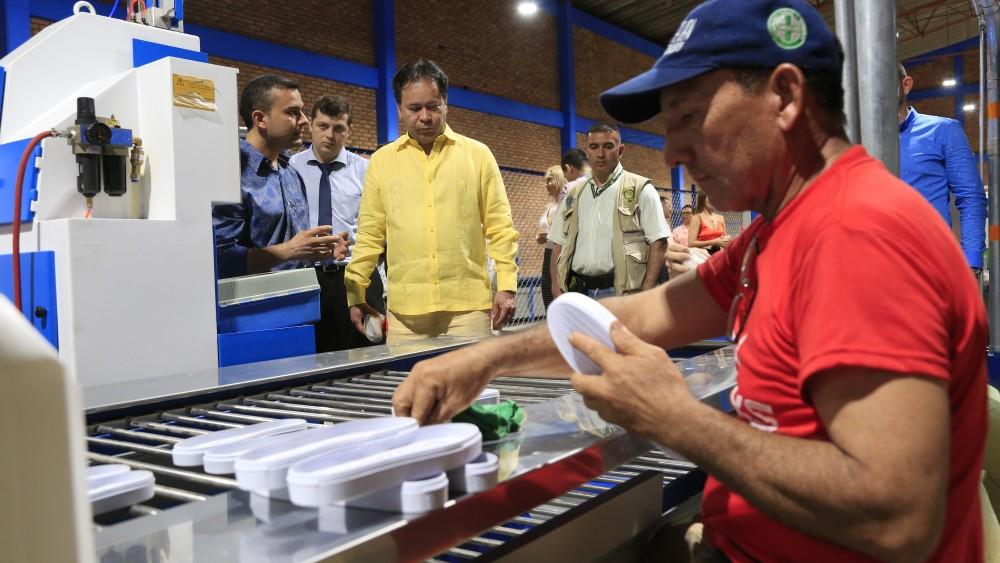 Inauguración planta de producción en la zona franca (7)