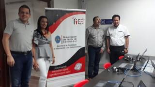 Secretaría de las TIC - Visitas institucionales a La Playa y Ábrego (2)