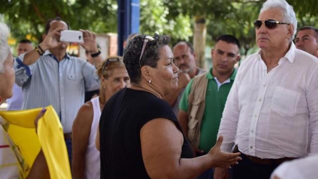 ALCALDE CONSTATÓ RECUPERACIÓN DEL ESPACIO PÚBLICO EN SEVILLA