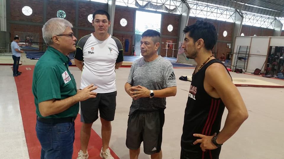 Gimnastas extranjeros se preparan en Cúcuta 2 (2)