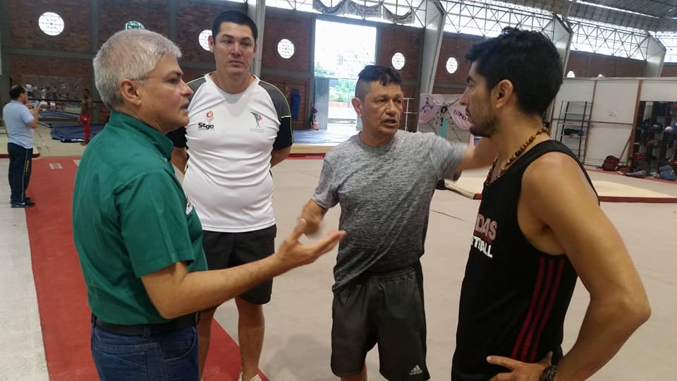 Gimnastas extranjeros se preparan en Cúcuta 2 (3)
