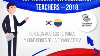 Secretaría de Educación - Capacitación a docentes en Corea del Sur