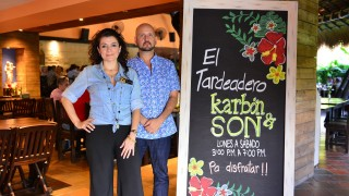 Luz Karime Assaf (administrador) y Eduardo Cadavid (Propietario)