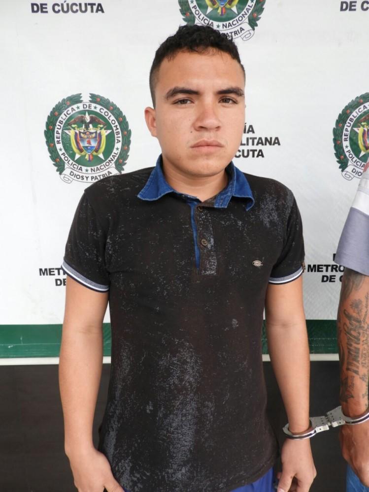 """Edwin García Rangel, de 22 de años, alias """"El Cura o El Padre"""""""