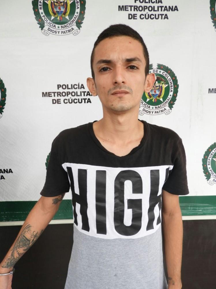 """Yeison Omar Pacheco Santiago, de 24 años, conocido como """"Ratón"""