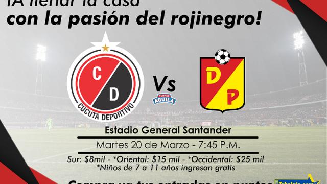 Cúcuta vs Pereira