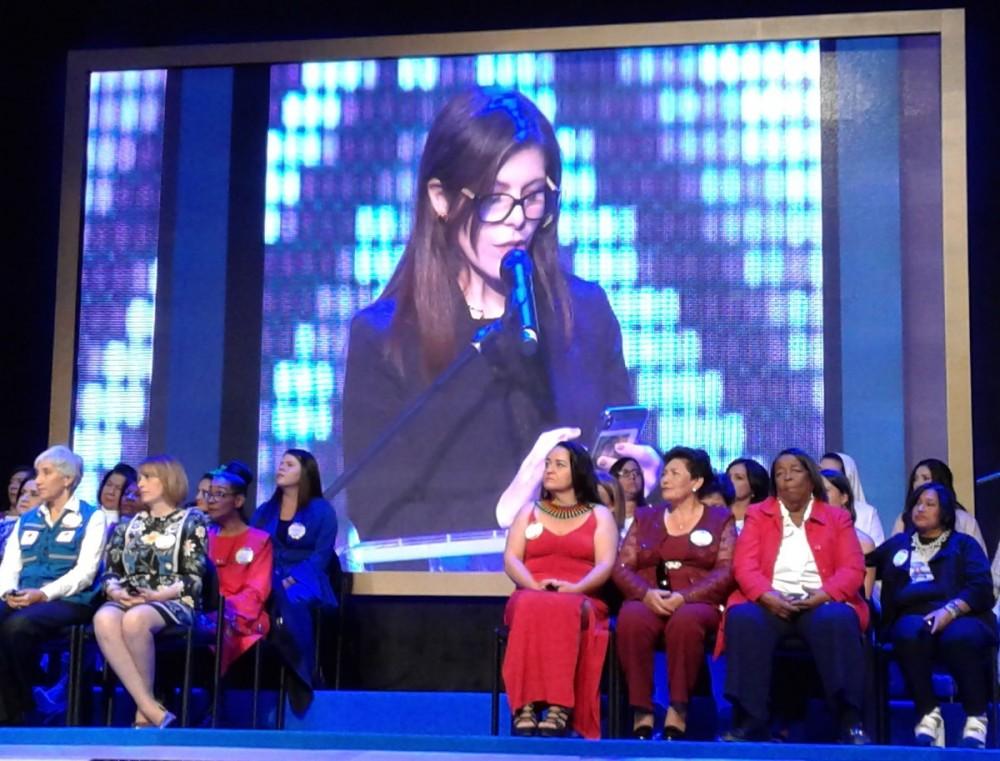 María Carolina Hoyos Turbay Premios Cafam a la mujer 2018