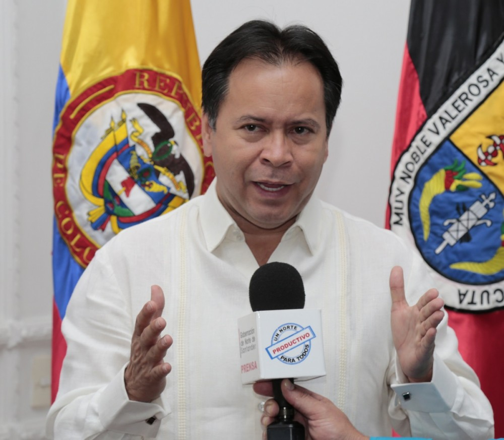William Villamizar Laguado, Gobernador Norte de Santander
