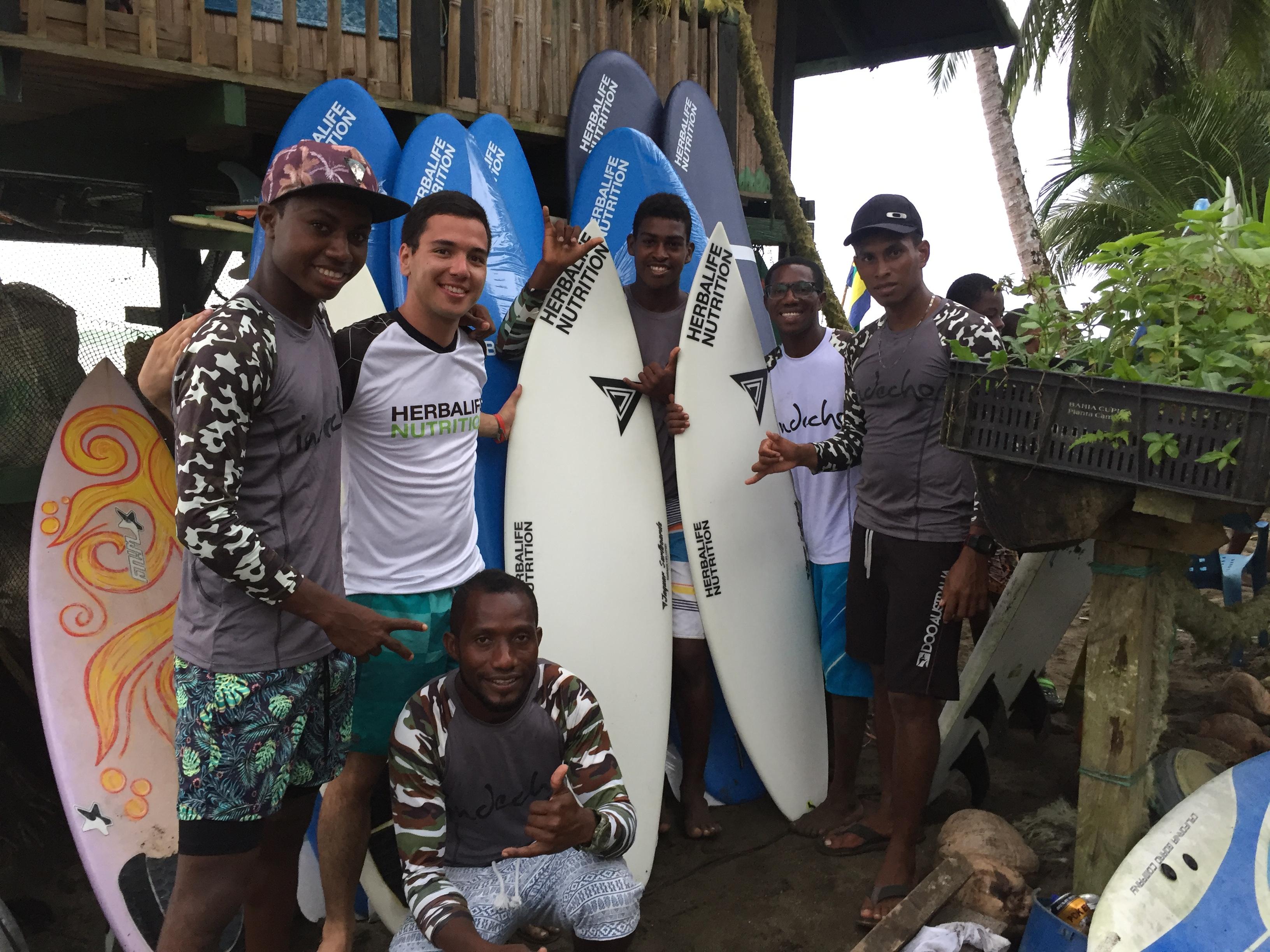Con Herbalife Nutrition, los nuevos talentos del surf nacional toman ...