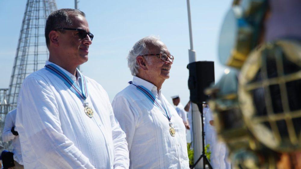 Diego Hernández y Alberto Ospina