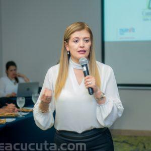 Nancy Shirley Rodríguez gerente de comunicaciones