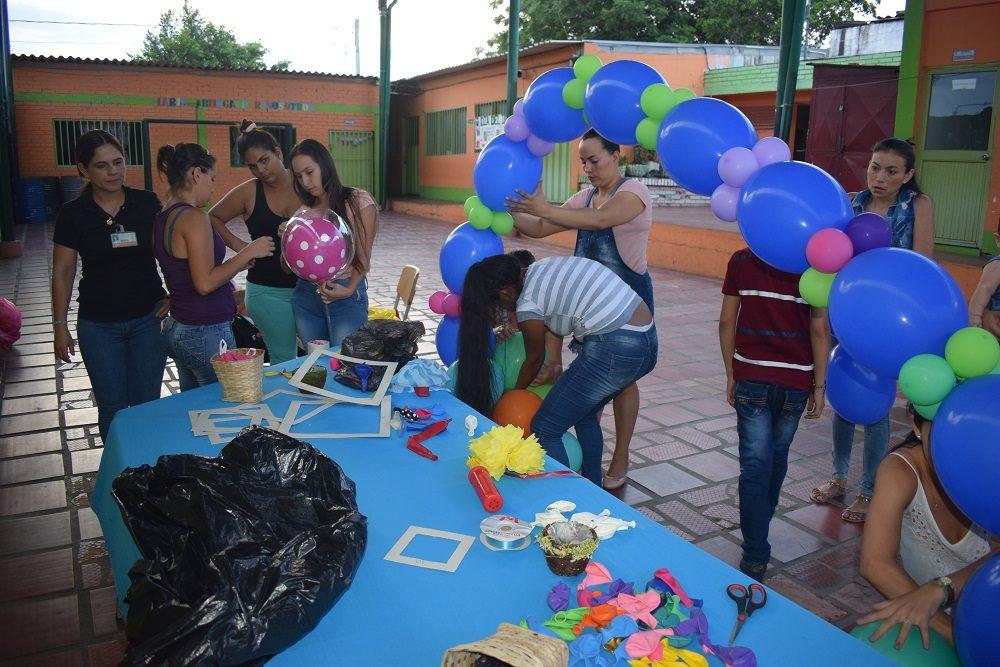 9ddc1b5c5d53 MADRES CABEZA DE FAMILIA SE CAPACITAN EN ÁREAS PRODUCTIVAS ...